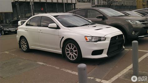 mitsubishi evolution 2017 mitsubishi lancer evolution x 5 january 2017 autogespot
