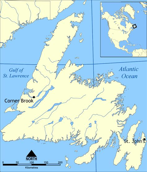 newfoundland map opinions on placentia newfoundland and labrador