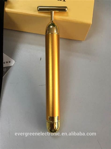 Gold Bar Lift 24k lift 24k gold energy bar remove wrinkles equipment made in china eg