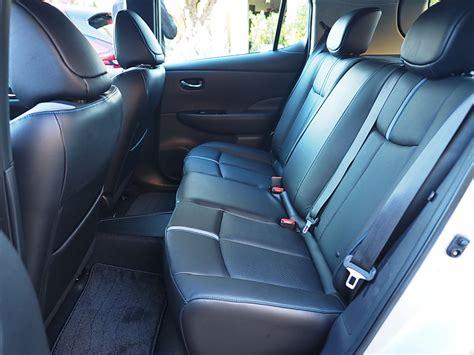 new car seats 2018 2018 nissan leaf more refinement longer range review