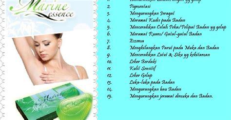 Sabun Muka Hai O premium beautiful bersama cempaka fungsi sabun marine essence