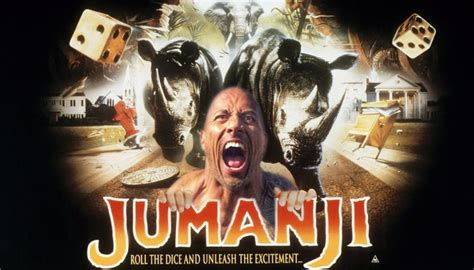 jumanji movie remake the rock has revealed that the jumanji remake is