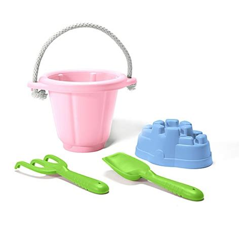 bed bath and beyond toys green toys 4 piece sand play set in pink bed bath beyond