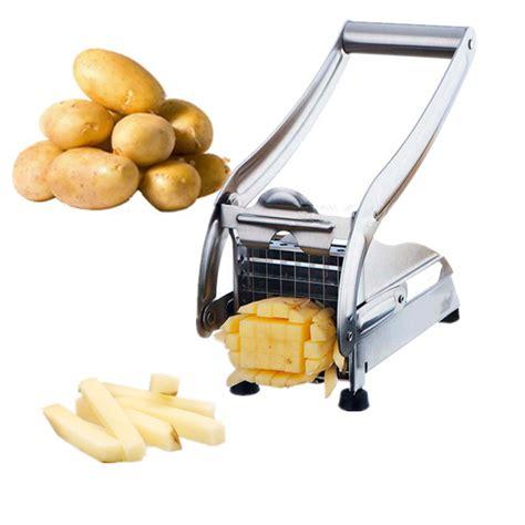 Potato Slincer Stainless Steel Fry Cutter Potato Cutter Kitchen