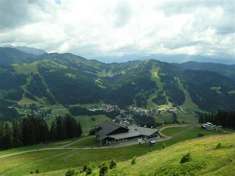 a view from the file morzine view from mountain jpg wikimedia commons