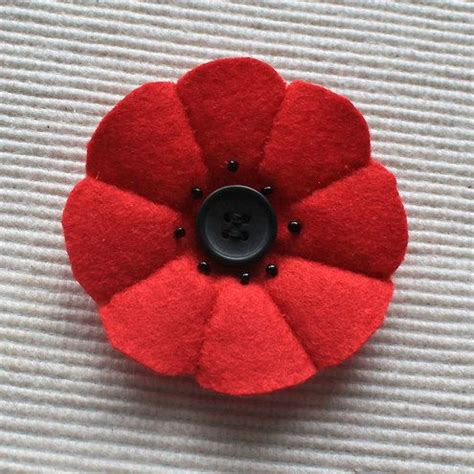 pattern for felt poppy 17 best images about poppies on pinterest brooches