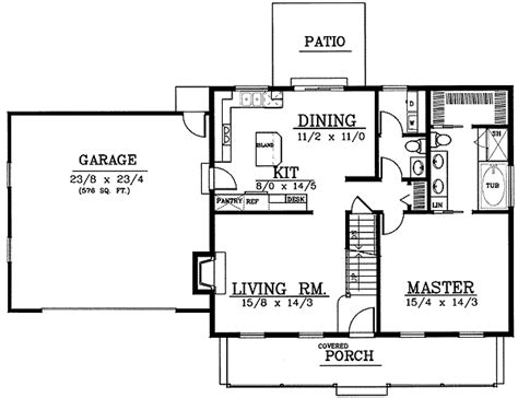Cape Cod 2nd Floor Plans Adorable Cape Cod 7575dd 1st Floor Master Suite Cad