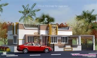 Ground Floor House Elevation Designs In Indian 800 Sq Feet Minimalist Single Floor House Kerala Home