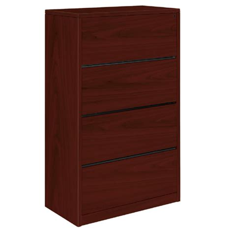 Hon Four Drawer Lateral File 10516 File Cabinets Lateral Vs Vertical File Cabinets