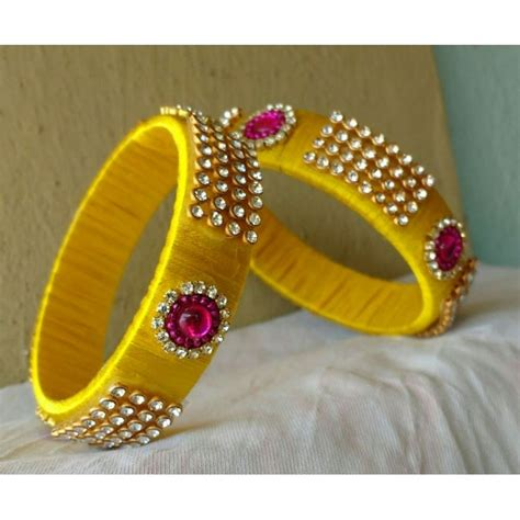Bangles Designs Handmade - 17 best images about silk thread bangels on
