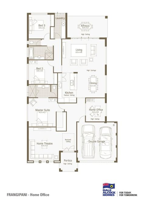 one floor home plans single story house designs floor plans single story modern