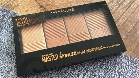Maybelline Master Bronze maybelline master bronze palette review tricia s