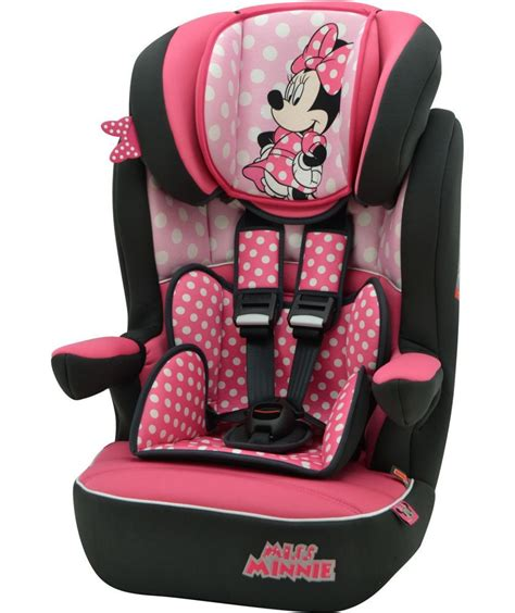 high back booster seat with harness argos buy disney minnie mouse 1 2 3 imax high back booster
