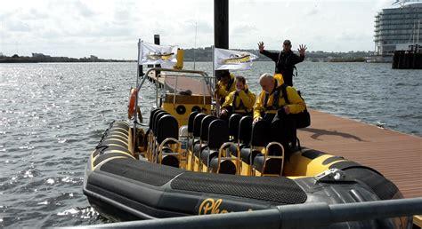fast boat cardiff bay cardiff sea safari wales a fast trip around the bay