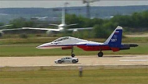lamborghini jet lamborghini huracan vs fighter jet