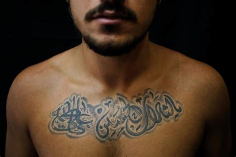 can muslims have tattoos photos in a time of violence these shiites are fighting