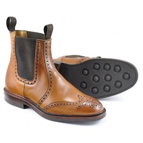 marshalls mens boots loake thirsk brogue dealer boots marshall shoes