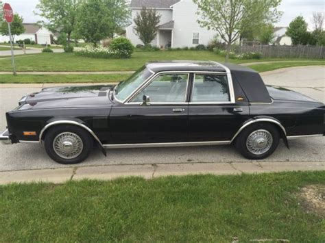 chrysler new yorker fifth avenue for sale used cars on buysellsearch 1983 chrysler new yorker fifth avenue for sale photos technical specifications description
