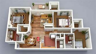 house design plans 3d 3 bedrooms 13 awesome 3d house plan ideas that give a stylish new