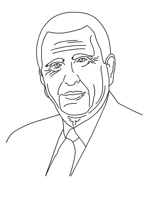 coloring page of thomas s monson coloring pages for free