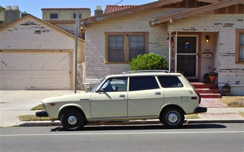 subaru station wagon the street peep 1977 subaru dl 1600 station wagon