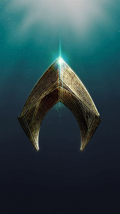 Aquaman Logo 640x1136 2018 aquaman logo iphone 5 5c 5s se ipod