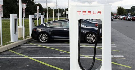 tesla charging stations businessman creates tesla charging road from beijing to