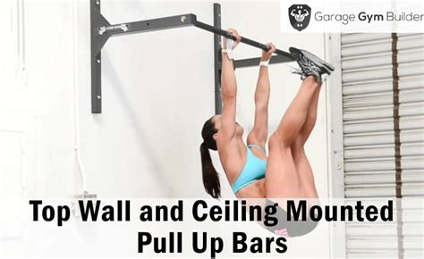 top pull up bars best wall and ceiling mounted pull up bars