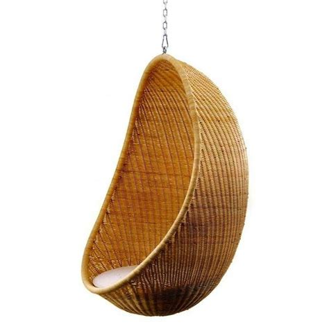 hanging armchair hanging egg chair by nanna ditzel