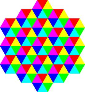 colors tessellation triangles domain pictures