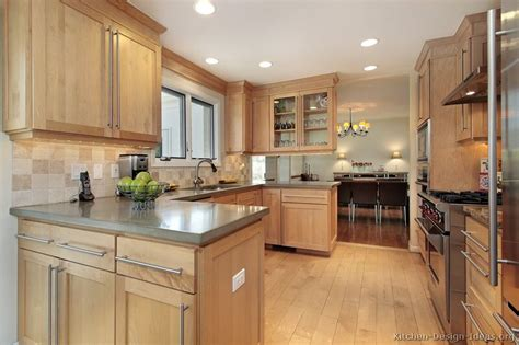 Cheap Ideas For Kitchen Backsplash by Pictures Of Kitchens Traditional Light Wood Kitchen