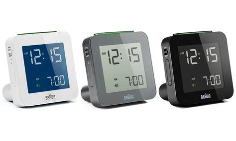 braun digital travel alarm clock groupon goods