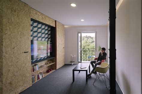 pop up homes the pop up house features flexible furniture to maximise space