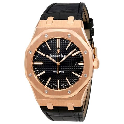Audemars Piguet audemars piguet royal oak automatic black black