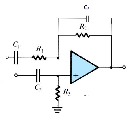 resistor capacitor values design the values of the capacitors and resistors chegg