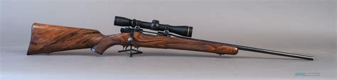 Handmade Rifle - al lind custom rifle 222 remington 22 quot barrel used