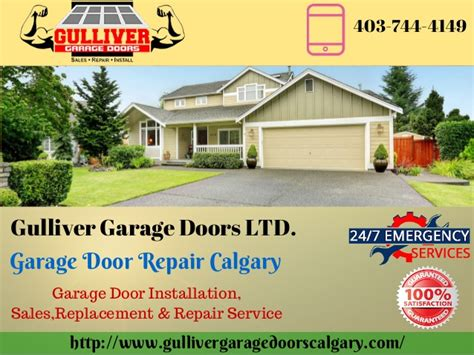garage door installation calgary garage door maintenance tips by garage door repair calgary