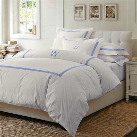 william sonoma bedding classic greek key bedding williams sonoma