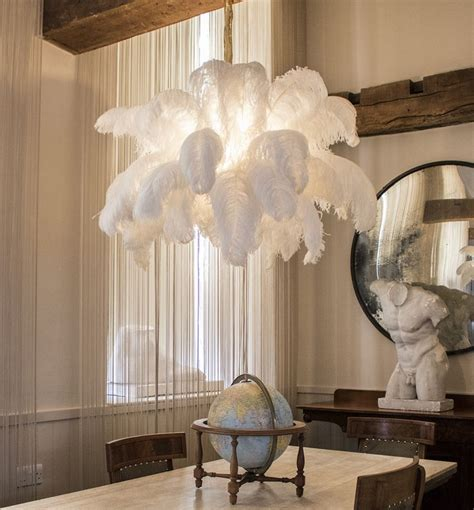 ostrich feather chandelier the feather chandelier for more information on our feather chandeliers contact info