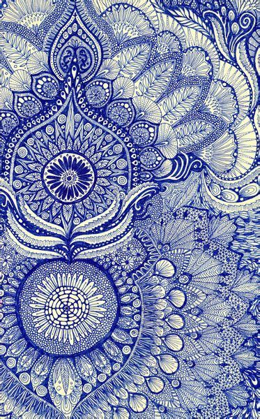 pattern print artists fabric print patterns pinterest indigo doodle art