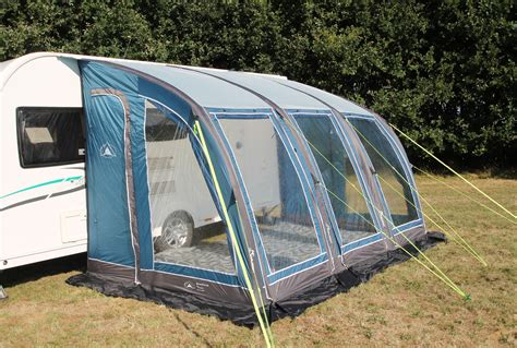 caravan air awnings sunnc curve air 390 inflatable caravan porch awning