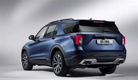 2020 Ford Explorer Hybrid Mpg by 2020 Ford Explorer In Hybrid Colors Release Date