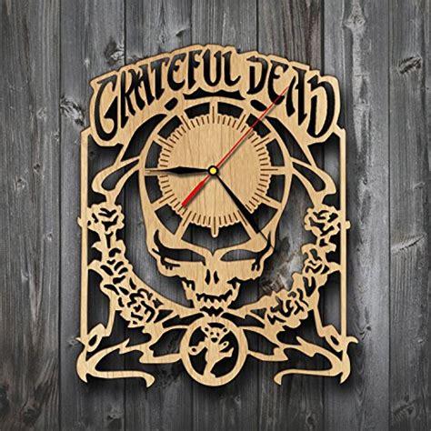 grateful dead home decor grateful dead gifts wood clock wall art home decor the