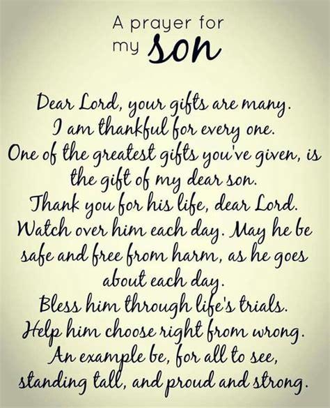 Best 25  Prayer for my son ideas on Pinterest   Prayer for