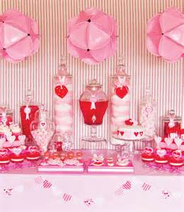 Valentine S Day Table by Oh So Darling Valentine S Day Dessert Tables