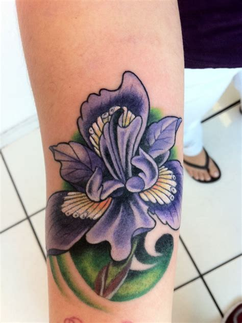 100 s of iris tattoo design ideas pictures gallery