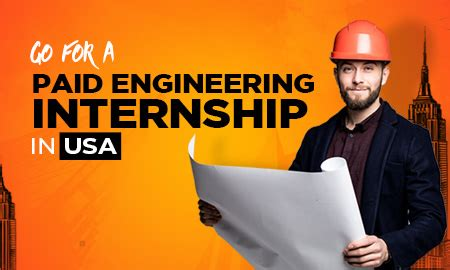 paid engineering internship  usa study
