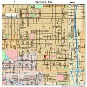 gardena california map gardena california map 0628168
