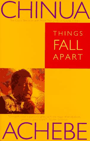 Things Fall Appart by Quot Things Fall Apart Quot By Chinua Achebe Read Rage