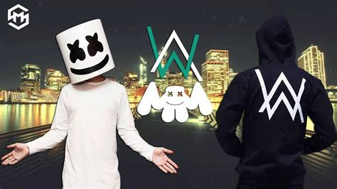 marshmello vs alan walker marshmello x alan walker x martin garrex nuevo tema